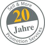 20 Jahre Sell & More Promotion Services